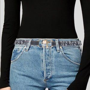 Christian Dior Vintage Logo Belt